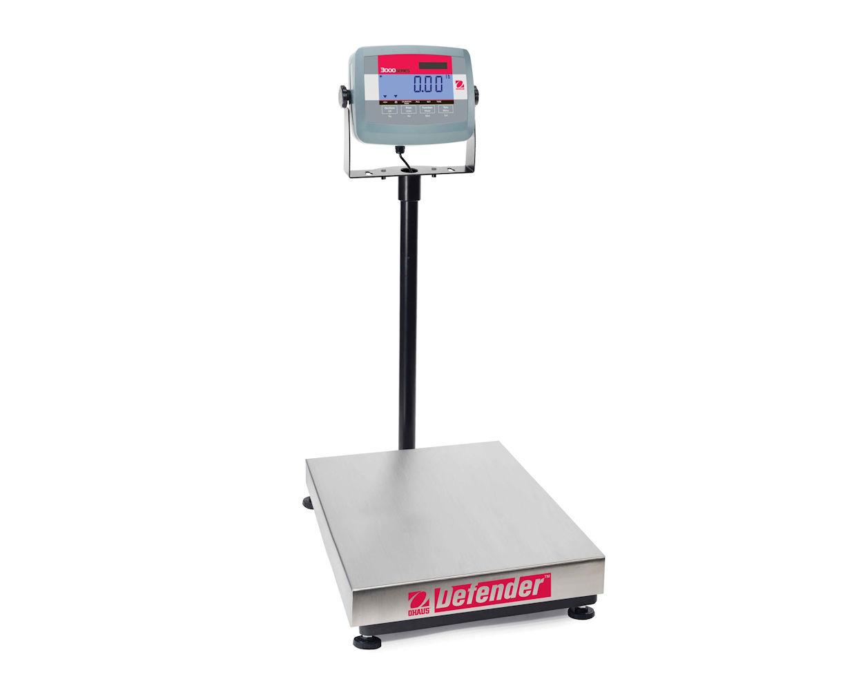 Ohaus Defender3000 kontrollvekt,  60kg/10g