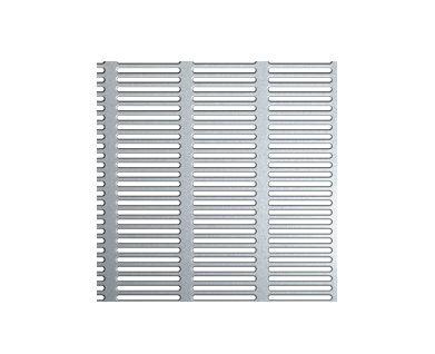 Perforert plate pvc 4x20mm, 2000x1000x2 mm