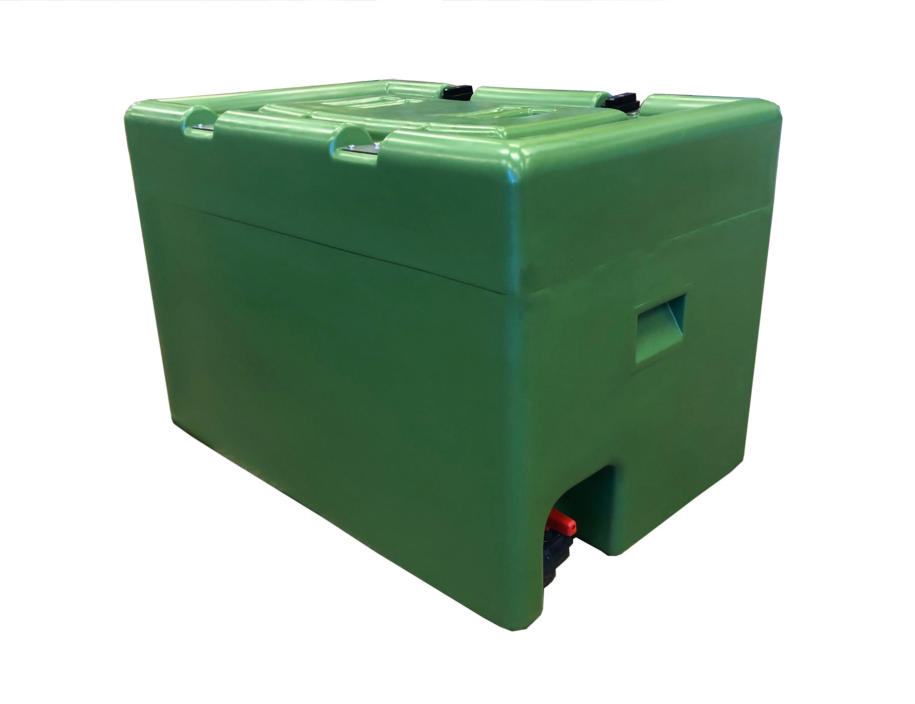"Linn  transportkar, pe, 600 liter, 1 1/4"" kran, grønn"