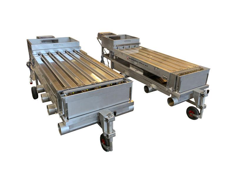 Apollo Standard sorteringsmaskiner, 1-500g